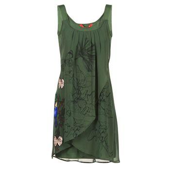 Rövid ruhák Desigual CARIESTO Zöld 27669.00 Ft