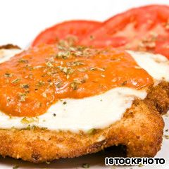 Australia - 40 native foods. Chicken Schnitzel. Don't be put off by the first picture you see on the website. The chicken schnitzel is there.