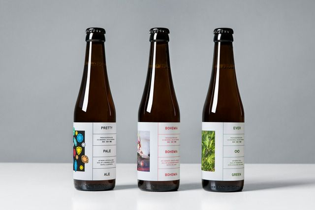 During the Spring of 2015, high-end craft brewery O/O Brewing released three new beers: A rich-in-flavor pale ale called Pretty Pale Ale, a saison made with Pilsner Malt and Saaz Hops called Bohemia and Evergreen - a flavorful IPA inspired by the taste and smell of conifer.For the packaging of th...