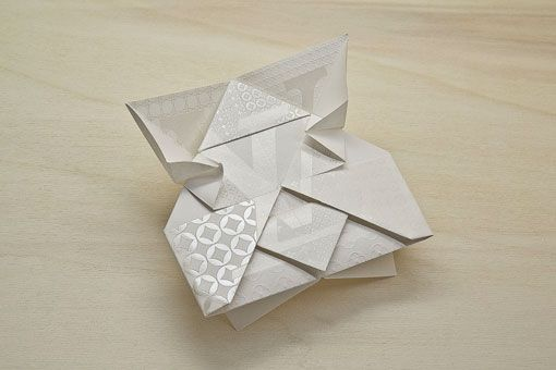 This is invitation! origami louis vuitton invite by Happycentro
