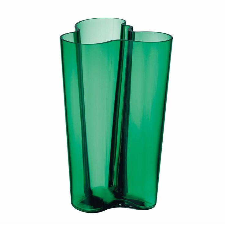 Aalto Finlandia vase designed by Alvar Aalto for Iittala.