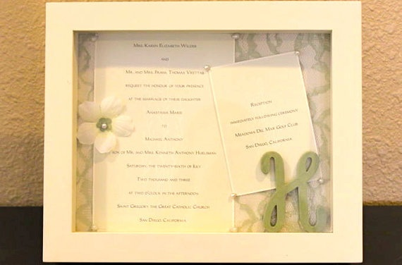 Gifts Using Wedding Invitation: 25+ Best Ideas About Wedding Invitation Keepsake On