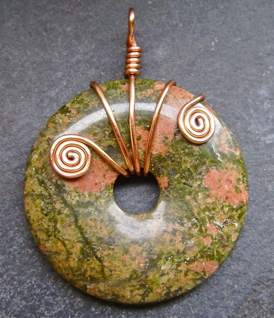 Copper Wire Jewelry | ... copper wire wrapping repinned from my handmade jewelry by tom