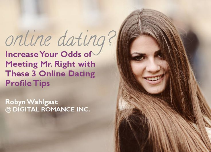 Online dating profile picture tips