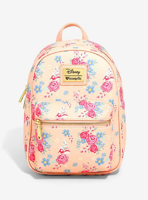 5fe2750d605 Loungefly Disney Bambi Floral Mini Backpack - BoxLunch Exclusive ...