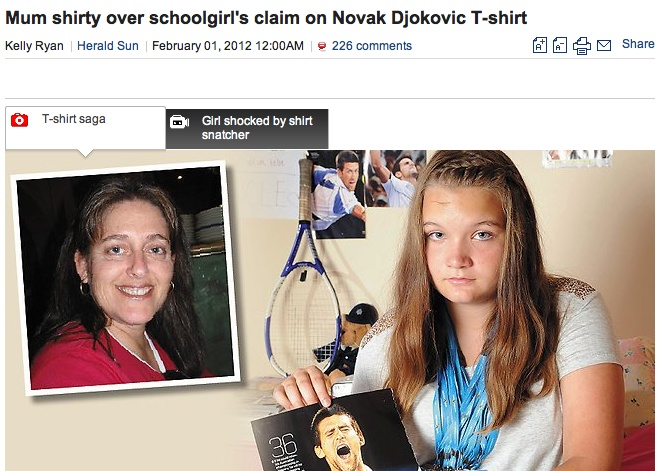 The Ugly Side Of Social Media? The Woman, The T-Shirt And The Tennis Final