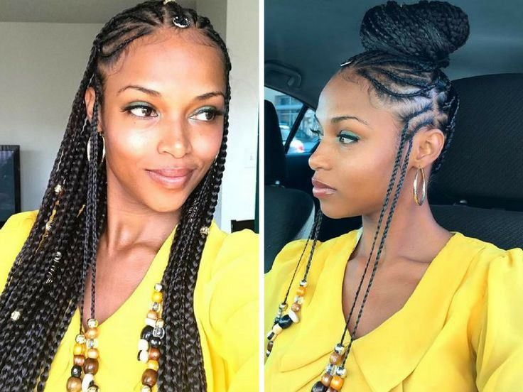 Best Black Braided Hairstyles To Woman 2019 Stylish F9 Makeup