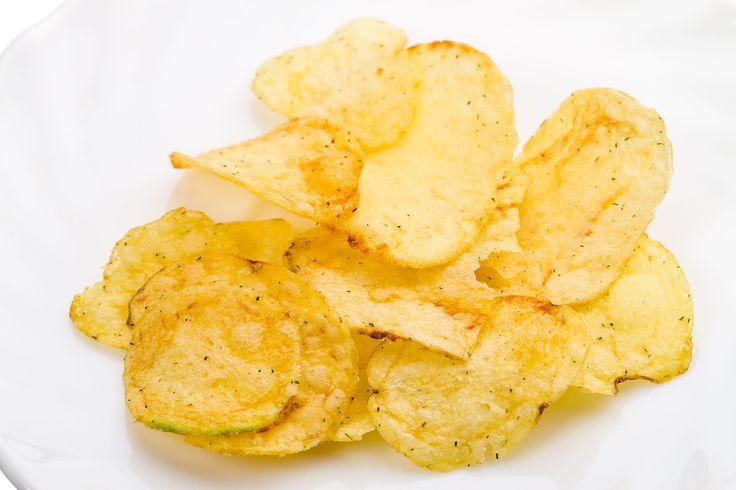 Homemade Snack Recipe: Baked Potato Chips