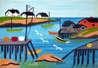 Maud Lewis - Black Sheep Gallery