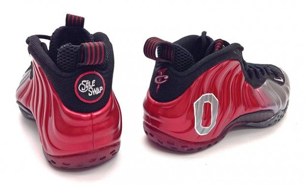 Nike Air Foamposite One \u201cOhio State\u201d Custom