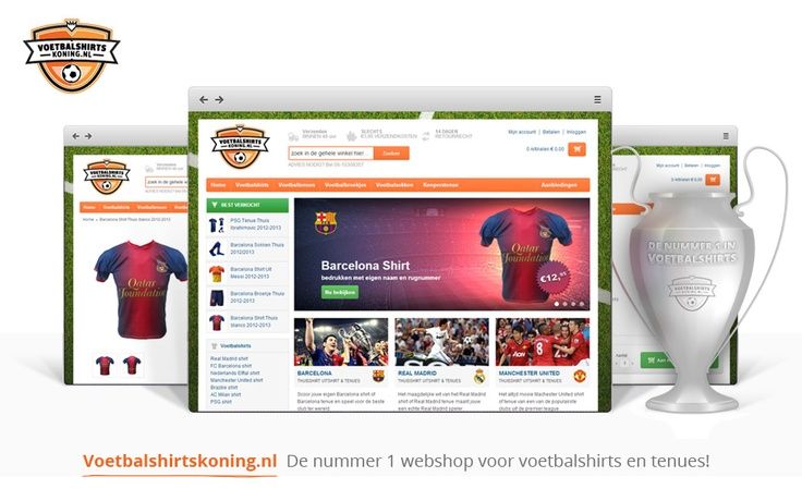 Gespecialiseerd in replica voetbalshirts en tenues