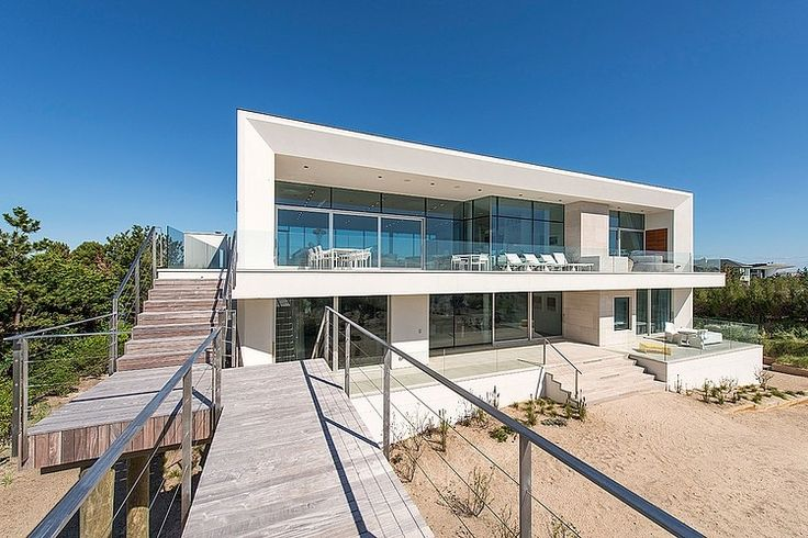 Dune Road House by Jason Klinge Residential Contracting