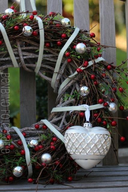 christmas wreath #diy #benbino    www.benbinoblog.blogspot.com