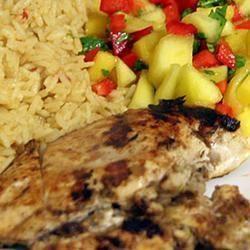 Pittige Jamaicaanse kip @ http://allrecipes.nl