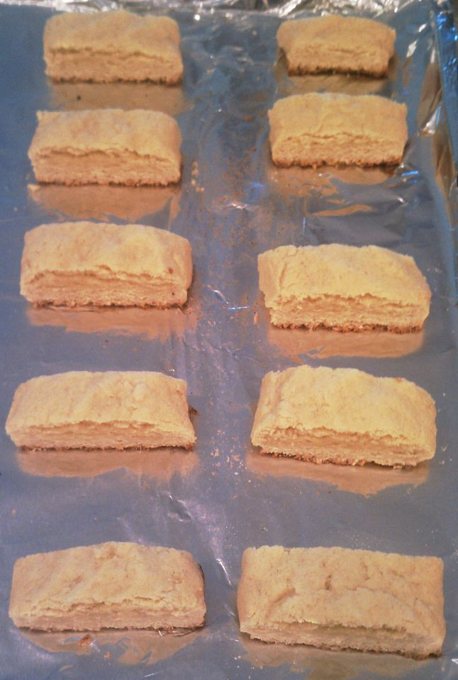 Homemade Teething Biscuits Made these today, Haley loves them. I added cinnamon and vanilla for the flavor.