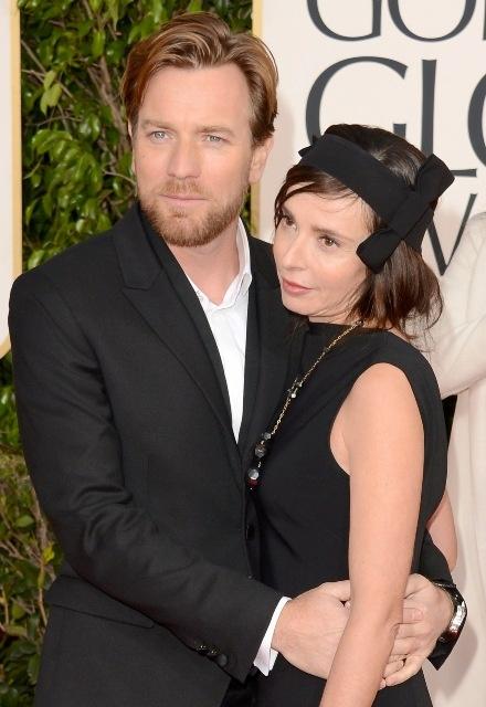 Ewan McGregor And His Wife Golden Globes 2013