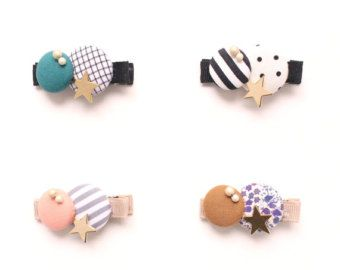 Etsy の Kid Friendly Maru Buttons Clips by HOMAKO