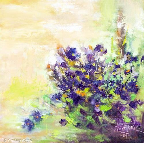 """""""Violets"""" - Christa Friedl"""