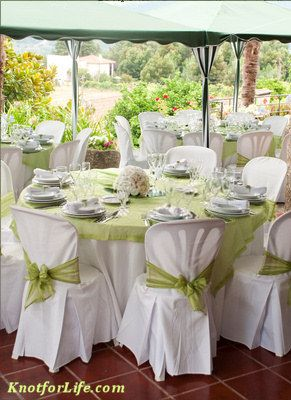 Reception Chairs And Tables Silver chairs around tables with