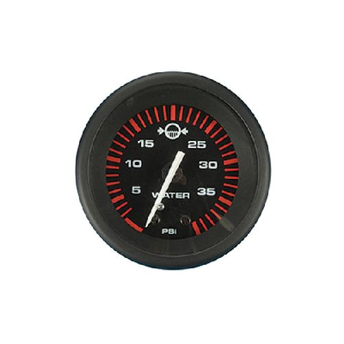 "Teleflex Amega Series Black 2"" Water Pressure Gauge Outboard 68357P - https://www.boatpartsforless.com/shop/teleflex-amega-series-black-2-water-pressure-gauge-outboard-68357p/"