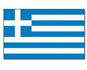 Mil-Tec Fahne Griechenland, 90x150cm / mehr Infos auf: www.Guntia-Militaria-Shop.de