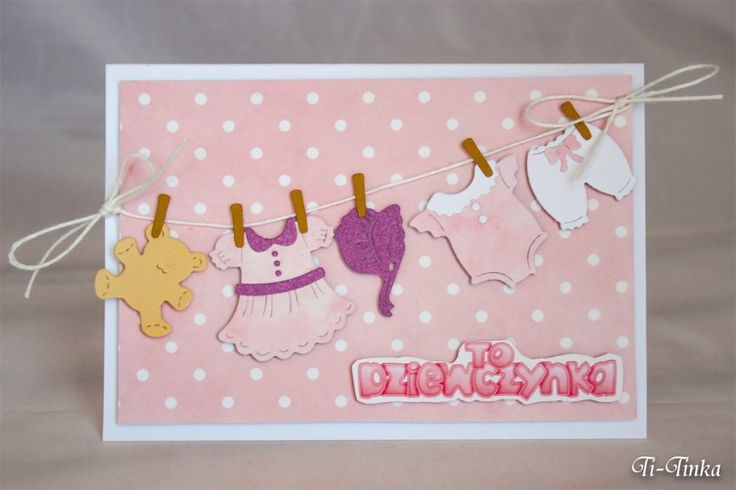 kartka gratulacyjna dla dziewczynki :)