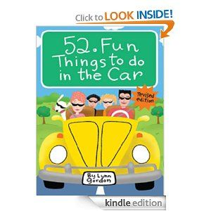 52 Fun Things to Do in the Car, revised (52 Card Deck)