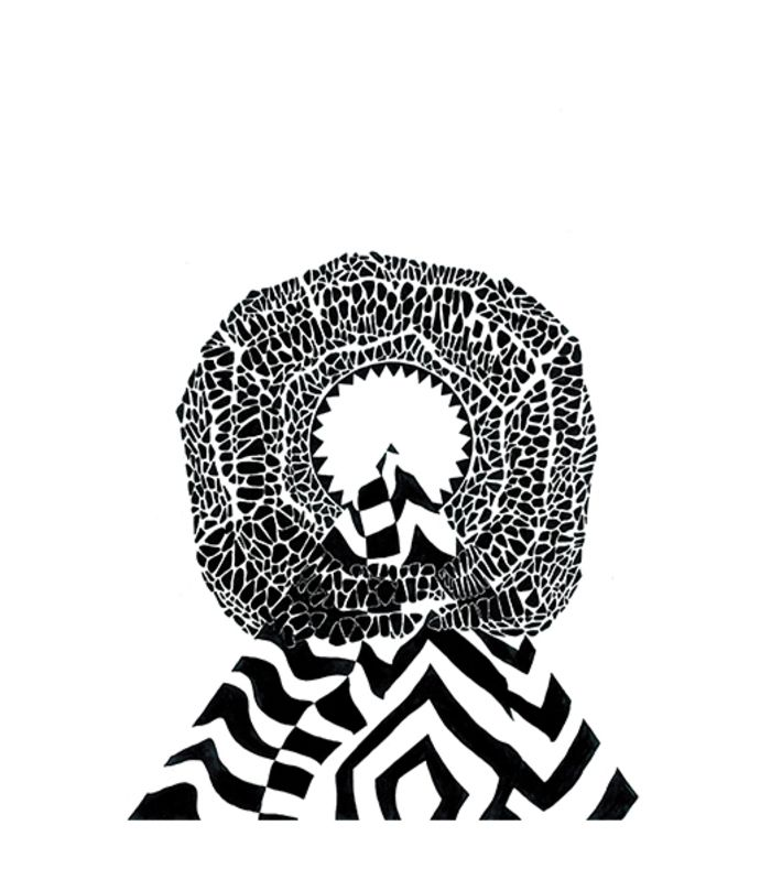 Limited print edition 1/100. Original piece is a felt tip and ink drawing.  You can buy this piece here: www.artrebels.com #artrebels #blackandwhite #art