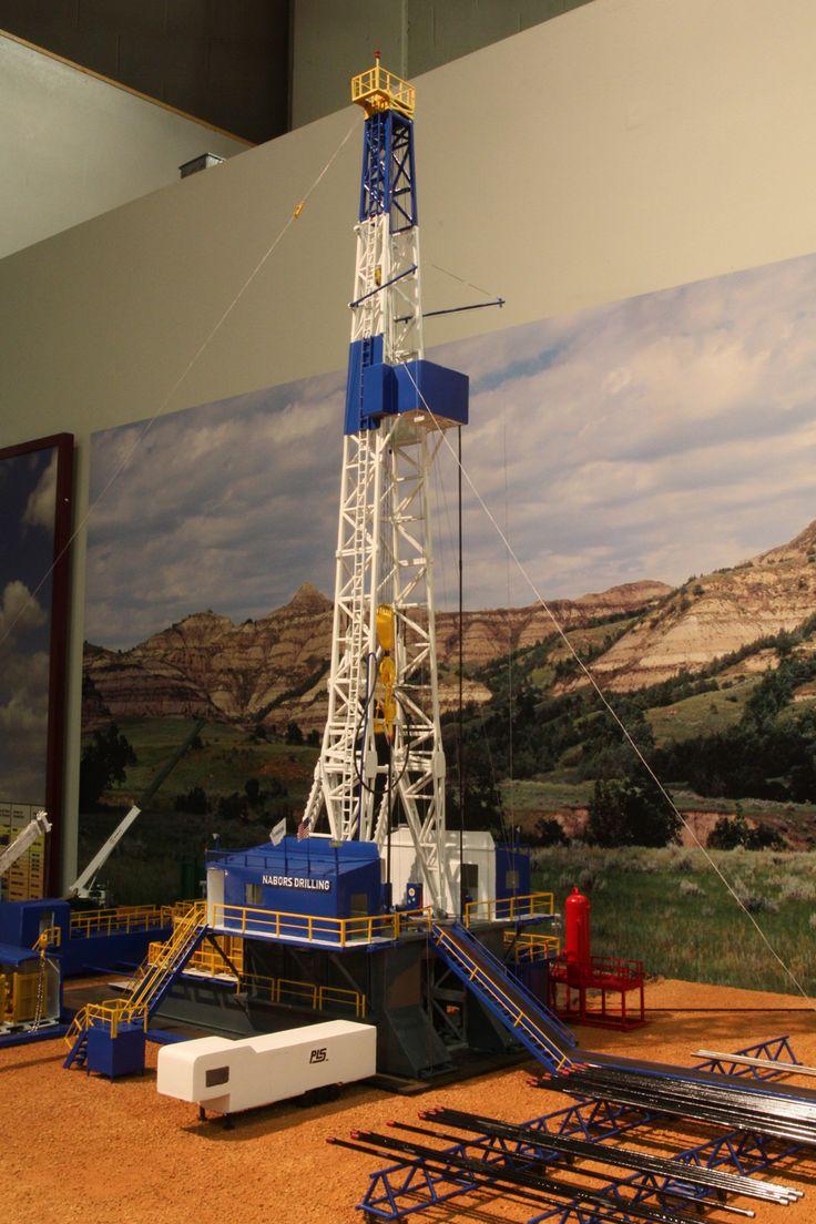 Nabors Drill Rig Model Drilling rig, Rigs, Oilfield trash