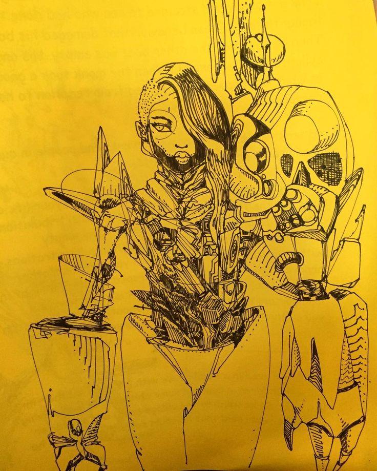 David Choe Sketch
