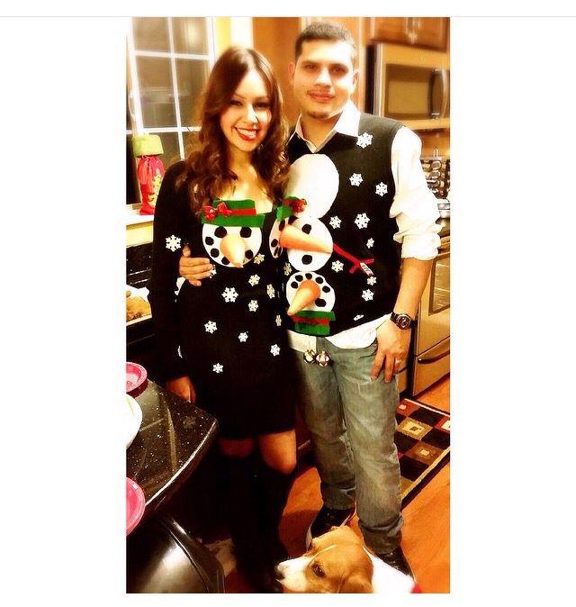 Couple's Ugly Sweater