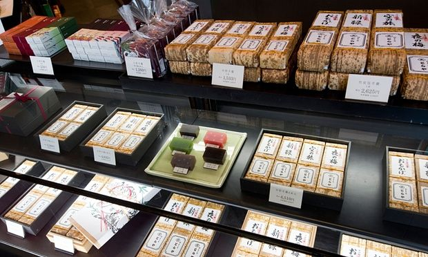 Confectionary at Toraya, one of #Japan's most famous sweet shops. #food