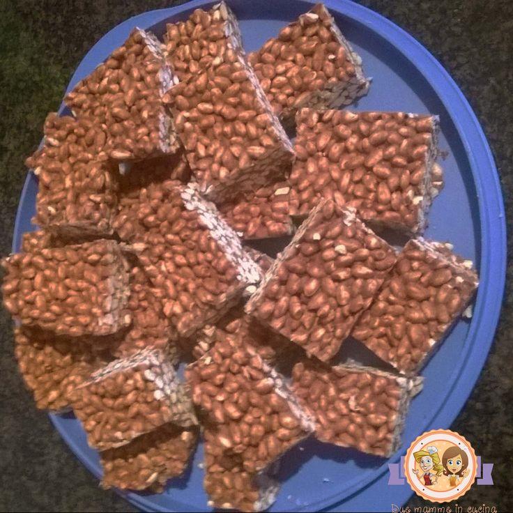 barrette al cioccolato Ricetta completa su www.duemammeincucina.com