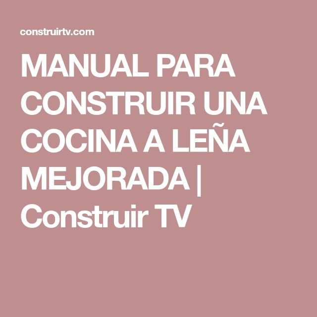 M s de 25 ideas incre bles sobre cocina a le a en for Manual de cocinas integrales