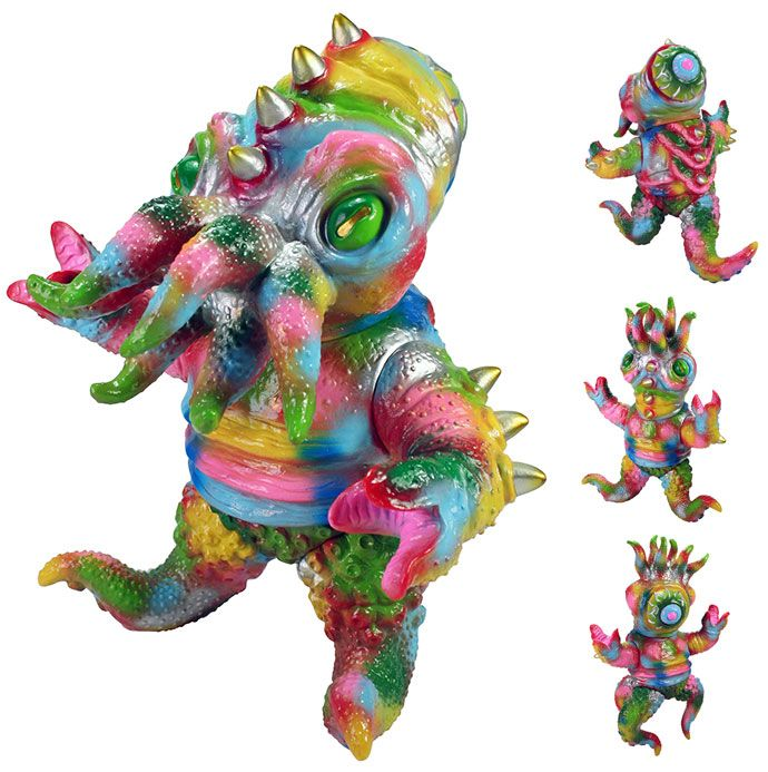 """Kaiju TriPus (2.0) """"Crazy Quilt"""" edition from Max Toy Co.!!!"""