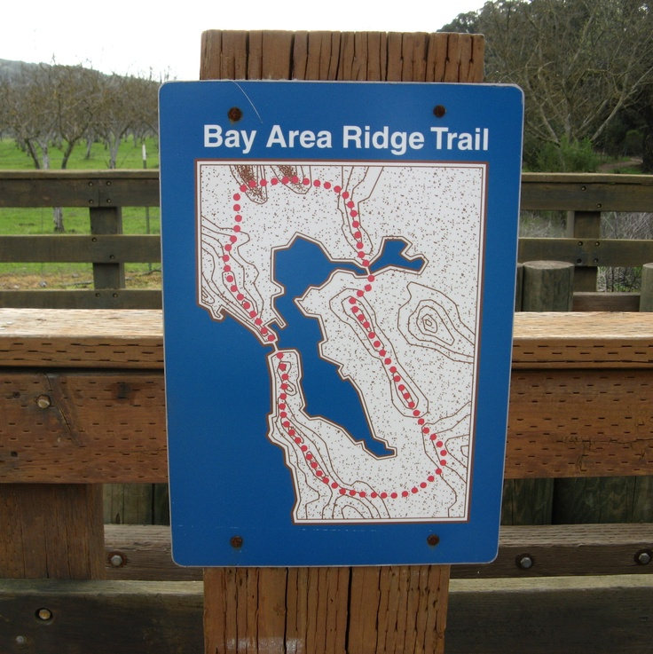San Jose Calif Map%0A Calero Creek Trail in San Jose  CA is part of the Bay Area Ridge Trail