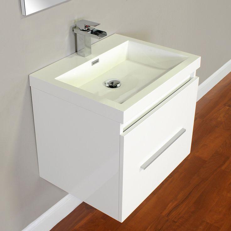 Photo Image ALYA AT W Modern Bathroom Vanity White