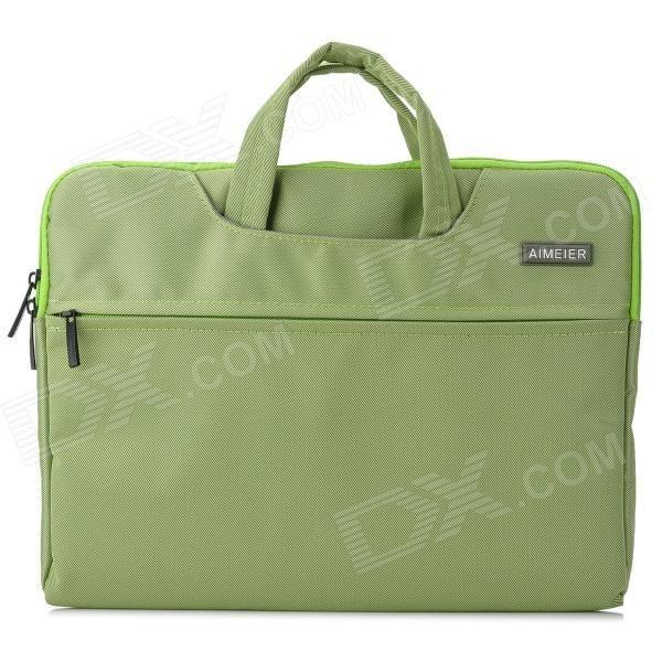 "Fashion Ultra-Slim Nylon Tote Bag for 1.3"" Tablet / Laptop PC - Green Price: $20.99"