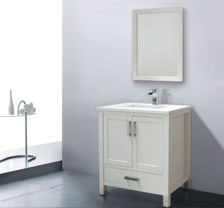 Astoria 31 inch White Double Sink Bathroom