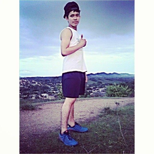 En la Montaña Haciendo Ejercicio :3 #Gym #Body