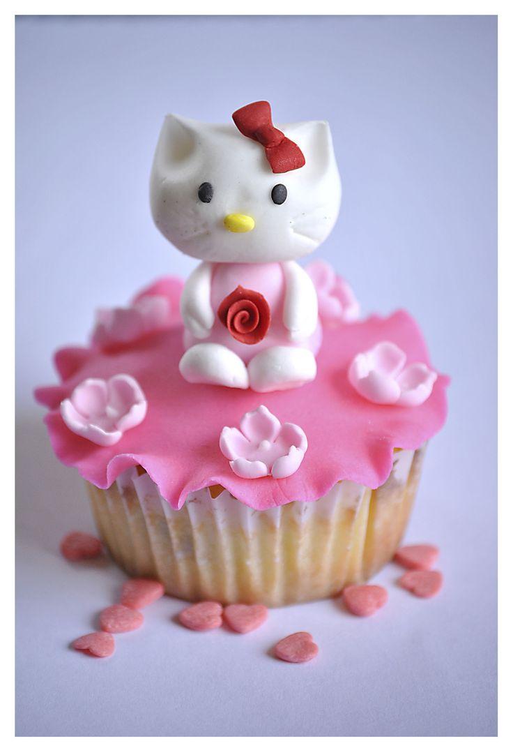 Cupcake hello kitty.