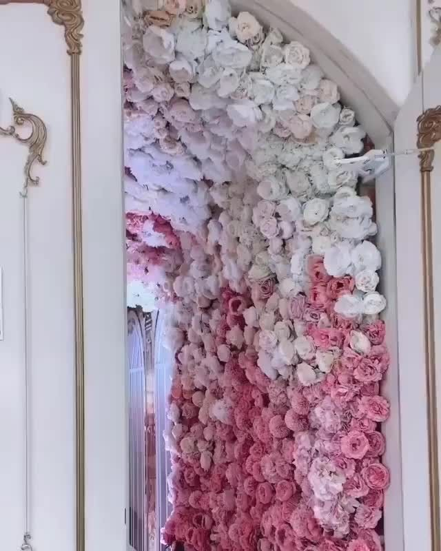 Luxury Wedding Pages On Instagram This Floral Wedding Decor Is