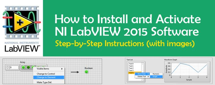 How to Install and Activate LabVIEW 2015 Student Version