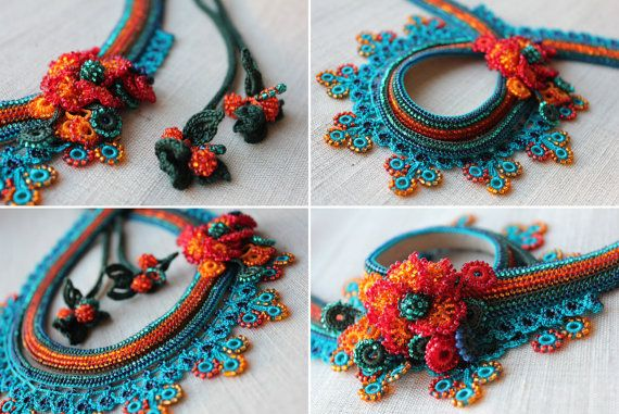 Asclepias Curassavica Beaded Crochet by irregularexpressions