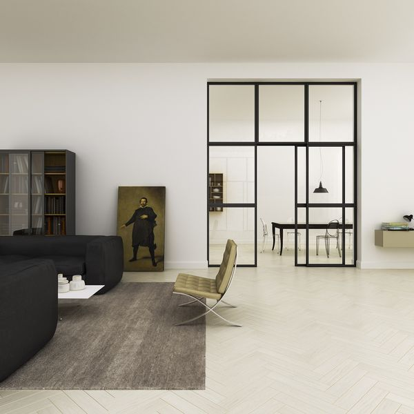 An apartment in Florence by Filippo Carandini Studio