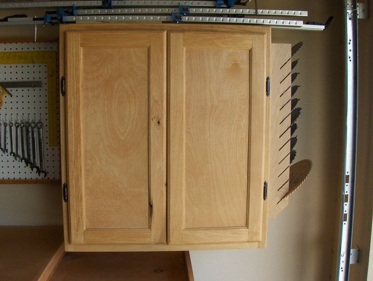 Plywood garage cabinet plans woodworking projects plans for Plywood cupboard