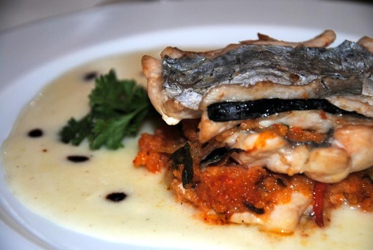 torretta di #spatola con mollicata ricca e salsa di #caciocavallo ragusano #satra #Scicli