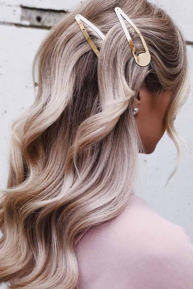 Popular Types Of Hair Clips Ideas To Individualize Your Hairdo Hair Styles Hairstyle Hair