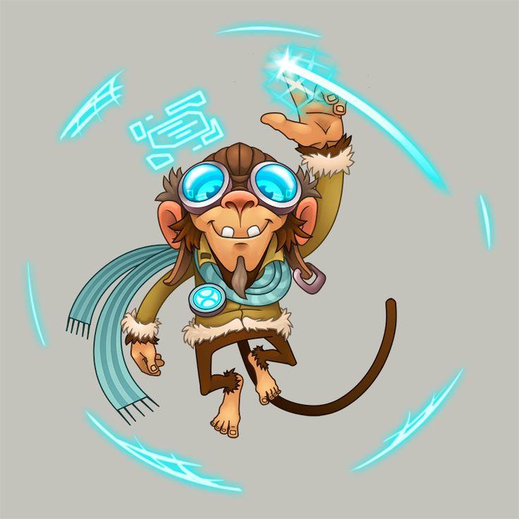 Monkey the time traveller logo