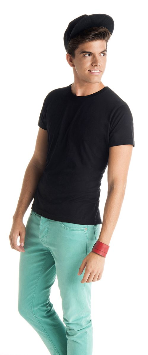 Camiseta Roly Disco color negro